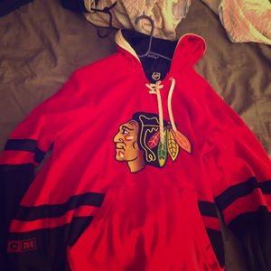 Chicago Blackhawks CCM NHL Hoodie